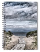 The Path To The Beach Spiral Notebook