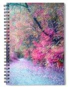 The Pathway Of Gentle Memories Spiral Notebook