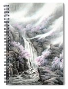 The Peach Blossoms In The Mountains Spiral Notebook