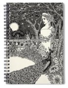 The Peacock's Complaint Spiral Notebook