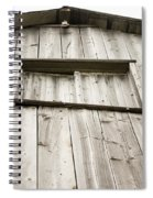 The Peak Of The Amana Farmer's Market Barn Spiral Notebook