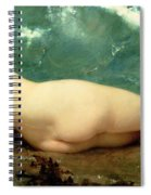 The Pearl And The Wave Spiral Notebook