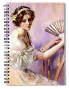 The Pearl Fan Spiral Notebook