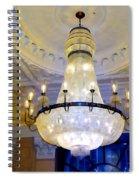 The Peninsula Chandelier Spiral Notebook