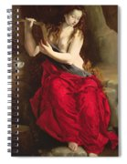 The Penitent Magdalen Spiral Notebook