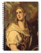 The Penitent Magdalene 1578 Spiral Notebook