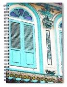 The Peranakan Building  Spiral Notebook