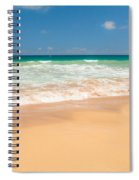 The Perfect Beach - Kapaa Kauai Hawaii Spiral Notebook