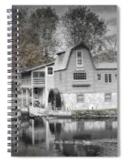 The Peterson Mill In Saugatuck Michigan Spiral Notebook