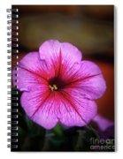 The Petunia Spiral Notebook