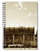 The Philadelphia Eagles - Lincoln Financial Field Spiral Notebook