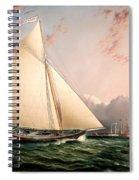 The Philip R. Paulding In New York Harbor Spiral Notebook