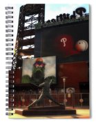The Phillies - Steve Carlton Spiral Notebook