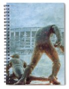 The Phillies At Veterans Stadium Spiral Notebook