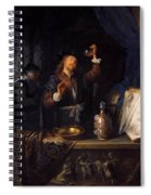 The Physician 1653  Spiral Notebook