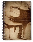 The Piano... Spiral Notebook