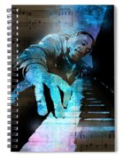 The Piano Man Spiral Notebook