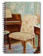 The Piano Room Spiral Notebook
