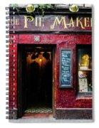 The Pie Maker Spiral Notebook