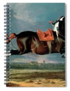 The Piebald Horse Spiral Notebook