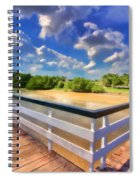 The Pier Spiral Notebook
