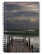 The Pier...ayia Napa Spiral Notebook