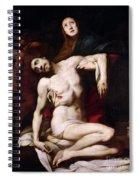 The Pieta Spiral Notebook