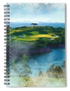 The Pine And Beach Links Spiral Notebook