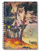 The Pine Wood, Provence Spiral Notebook