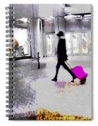 The Pink Bag Spiral Notebook