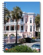The Pink Battery House Spiral Notebook