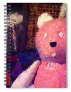 The Pink Bear Spiral Notebook