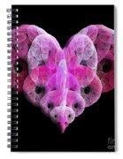 The Pink Heart Spiral Notebook