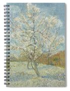 The Pink Peach Tree Arles, April - May 1888 Vincent Van Gogh 1853  1890 Spiral Notebook