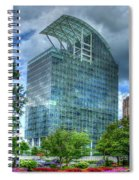 The Pinnacle Reflections Office Buildings Buckhead Atlanta Art Spiral Notebook
