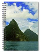 The Pitons Spiral Notebook