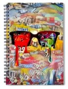 The Plasticity Of Dreams Spiral Notebook