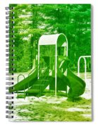 The Playground I - Ocean County Park Spiral Notebook