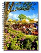 The Plaza Magic Kingdom Walt Disney World Spiral Notebook