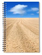 The Ploughed Field 2 Spiral Notebook