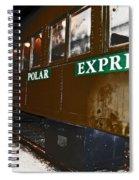 The Polar Express Spiral Notebook