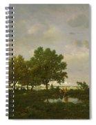 The Pond, La Mare Spiral Notebook
