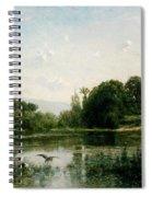 The Ponds Of Gylieu Spiral Notebook