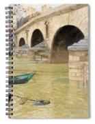The Pont Marie. Paris Spiral Notebook