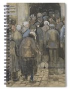 The Poor And Money The Hague, September - October 1882 Vincent Van Gogh 1853  1890 Spiral Notebook