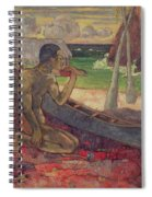 The Poor Fisherman Spiral Notebook