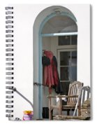 The Porch Spiral Notebook