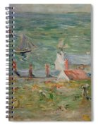The Port Of Gorey On Jersey Spiral Notebook