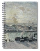 The Port Of Rouen Spiral Notebook