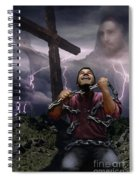 The Power Of Christ Spiral Notebook